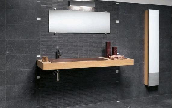 natuursteen in de badkamer, Meubels Ideeën