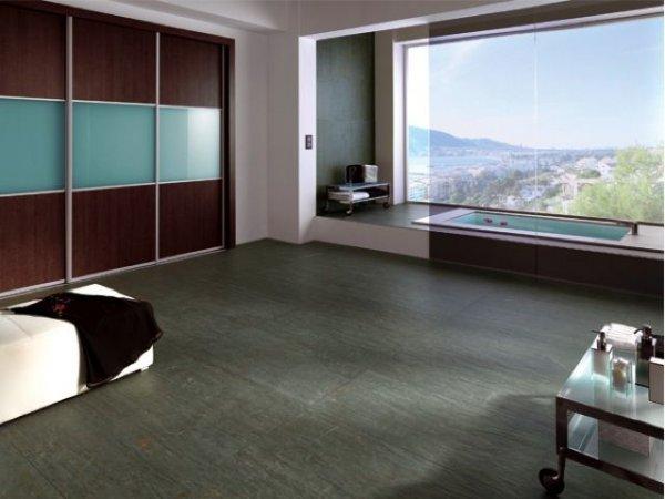 Badkamer vloertegels door middel van digitale printing